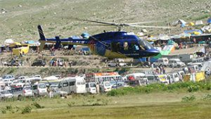 helicopter for amarnath yatra